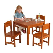 Farmhouse Kids 5 Piece Table & Chair Set