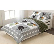 Knights and Shields 4 Piece Toddler Bedding Set