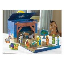 Nativity Scene Travel Box Play Set