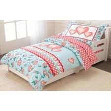 Princess Sweetheart 4 Piece Toddler Bedding Set