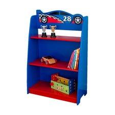 """Racecar 35.75"""" Bookcase"""