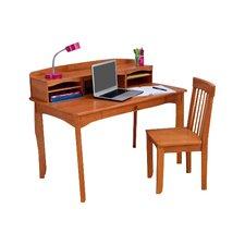 """Avalon 42"""" W 3 Piece Writing Desk Set"""