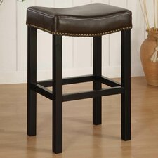 "Tudor 30"" Bar Stool with Cushion"