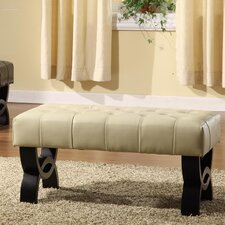 Central Park Leather Ottoman