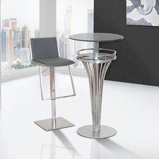 Ibiza Adjustable Height Bar Stool with Cushion