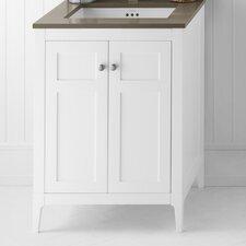 Briella  Wood Cabinet White Vanity Base
