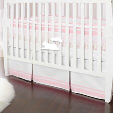 Classic Collection Barely Pink Fresh Air Crib Liner
