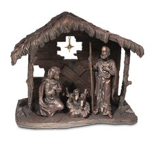 Holy Family Moments of Faith Nativity