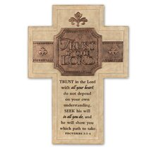 Trust in the Lord Decorative Wall Décor