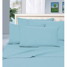 4 Piece 1500 Thread Count Bed Sheet Set