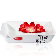 Vivere Poppy Rectangular Baking Dish