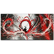Splash Abstract Original Painting on Canvas