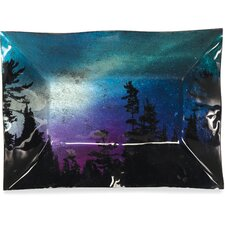Northern Lights Rectangle Plate