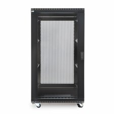 Linier Glass and Solid Doors Server Cabinet