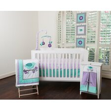Lovebirds 10 Piece Crib Bedding Set
