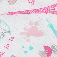 Posh in Paris Crib Sheet (Set of 2)