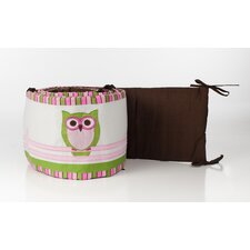 Sweet Dream Owl Crib Bumper