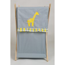 Argyle Giraffe Laundry Hamper