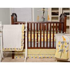 ZigZag Giraffe 6 Piece Crib Bedding Set