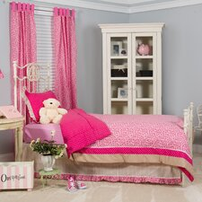 Tabby Cheetah Twin Bedding Set