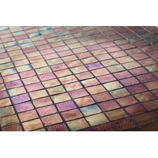 "The Studio 11.75"" x 11.75"" Glass Mosaic Tile in Monarch"