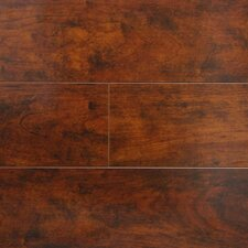 "6"" x 48"" x 12.3mm Laminate in Cherry (Set of 4)"