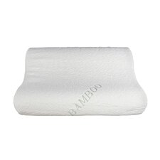 Natural Touch Bamboo Memory Foam Contour Pillow