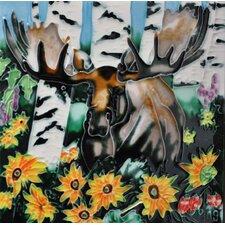 Moose Tile Wall Decor