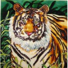 Tiger Tile Wall Decor