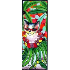 Kula Cat Tile Wall Decor
