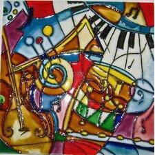 Music Pattern #1 Tile Wall Decor