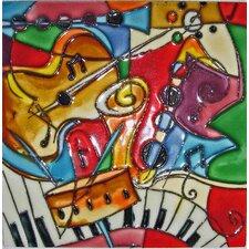 Music Pattern #2 Tile Wall Decor