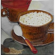 Coffee with A Spoon Tile Wall Decor