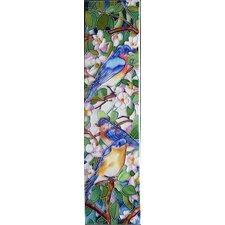 Blue Birds Tile Wall Decor