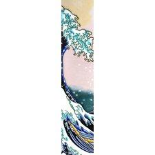 Vertical Wave Tile Wall Decor