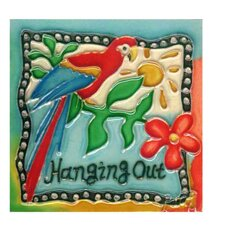 Hanging Out Tile Wall Decor