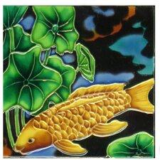Gold Fish Wall Decor