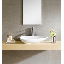 Modern Vitreous Triangular Vessel Sink Vessel Bathroom Sink
