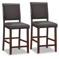 "Favorite Finds 24"" Bar Stool with Cushion (Set of 2)"