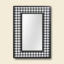 ReflectU Houndstooth Decorative Wall Mirror