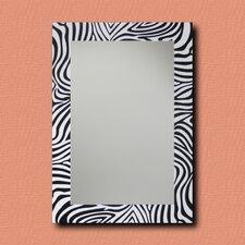 ReflectU Zebra Decorative Wall Mirror