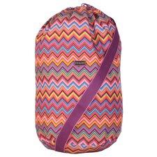 Cassandra Zigzag Laundry Bag