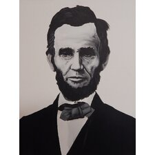 Abraham Lincoln by Ed Capeau Painting Print on Wrapped Canvas
