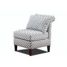 Ashton Roll Back Slipper Chair