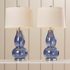 "28.5"" H Table Lamp with Drum Shade (Set of 2)"
