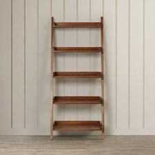 """Old Orchard 55"""" Leaning Bookcase"""