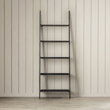 """74.75"""" Leaning Bookcase"""