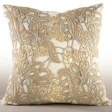 Alcea Cotton Throw Pillow