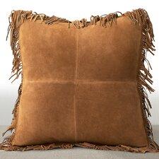 Coronado Luxury Leather Throw Pillow
