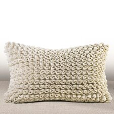 Madrygal Rosette Luxury Lumbar Pillow